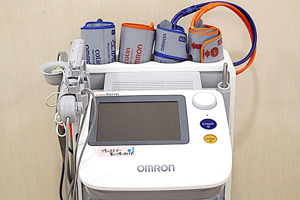 動脈効果の検査機械